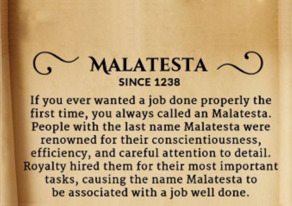 """Well what can I say? Ha ha."" Jason Malatesta"