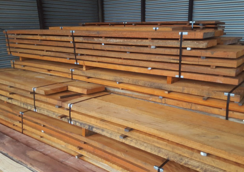 Beautiful curly Jarrah ready for a customer.
